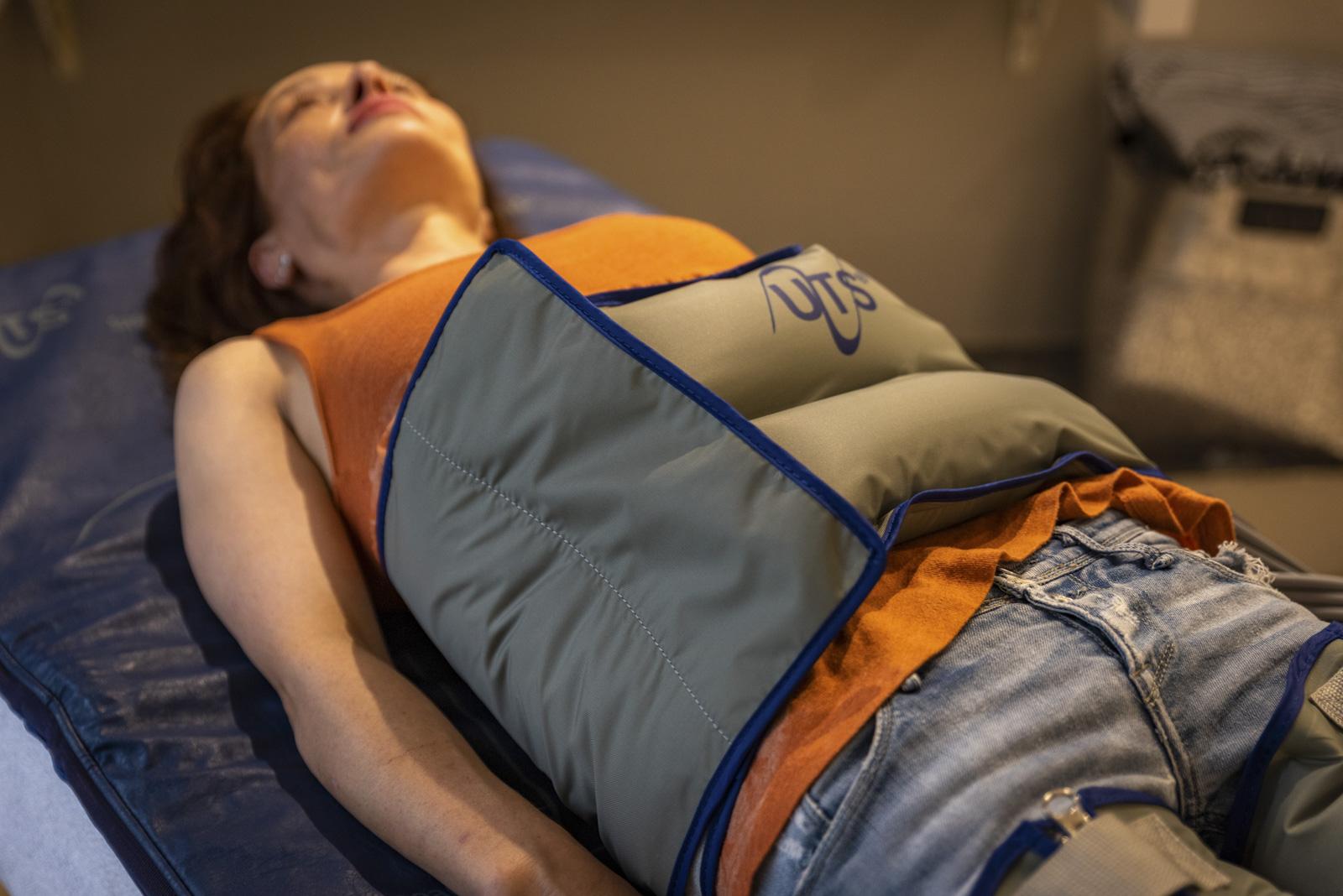 Tratamiento de presoterapia