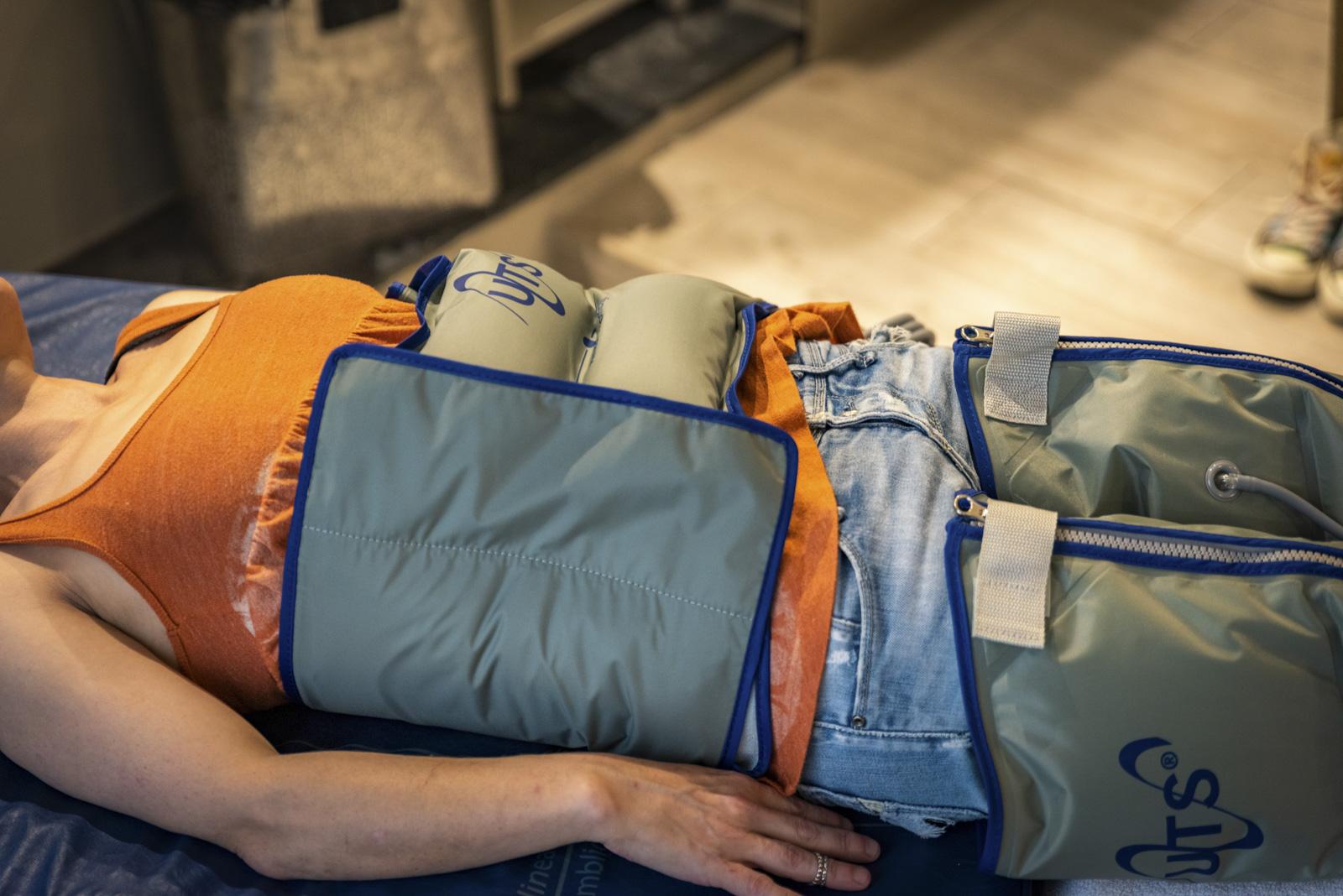 Tratamiento de presoterapia tatami